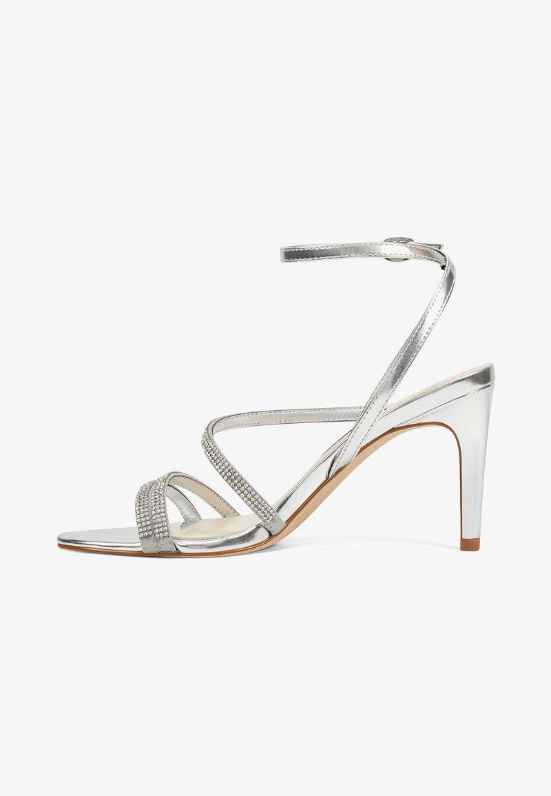 Nine West - High heeled sandals - silver