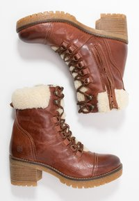 Apple of Eden - AMELIE - Lace-up ankle boots - brown - 3