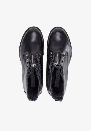 BIKER-BOOTS - Cowboy/biker ankle boot - schwarz