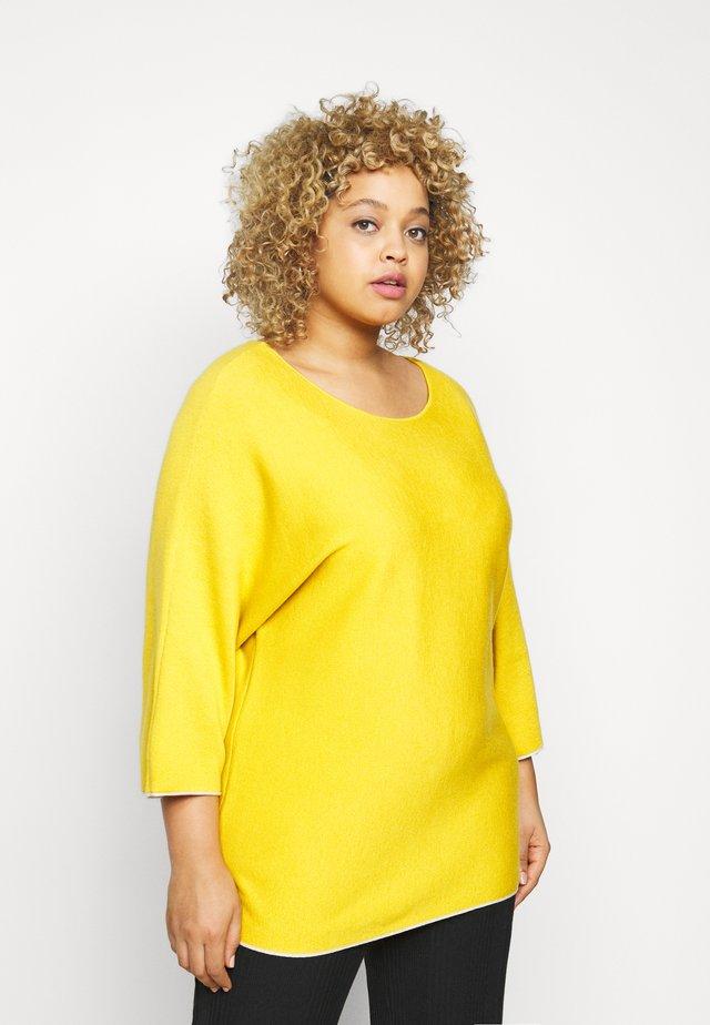 DOUBLE FACE  - Trui - california sand yellow
