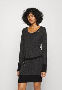 Ragwear - ALEXA - Day dress - black - 0