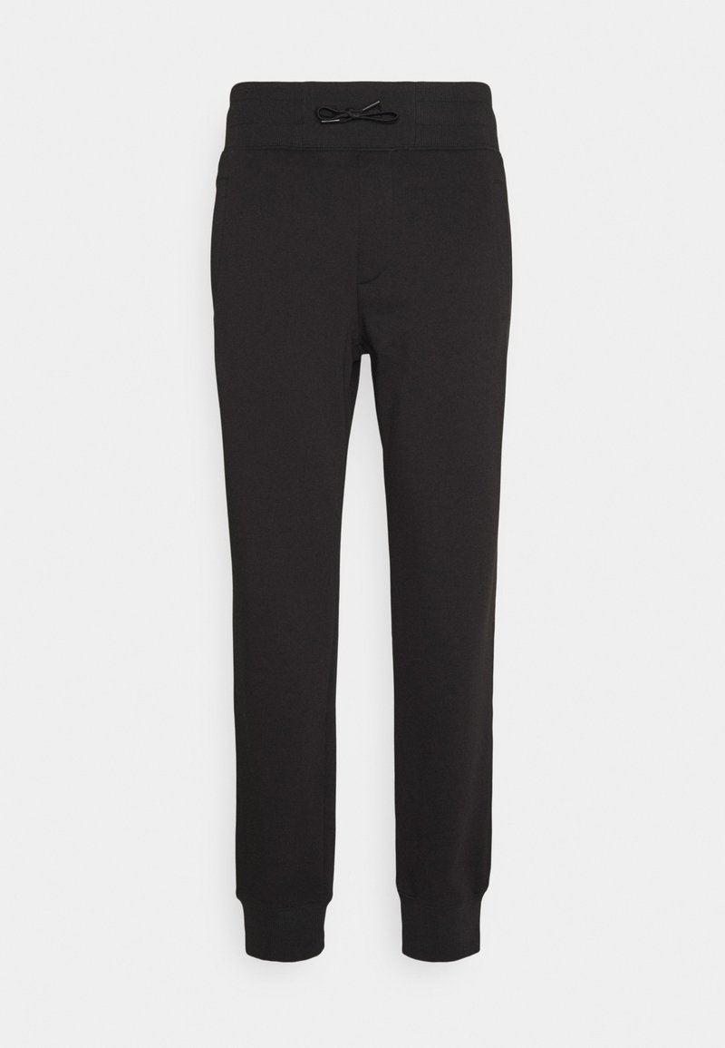 Versace Jeans Couture - ORGANIC BRUSHED - Tracksuit bottoms - nero/oro