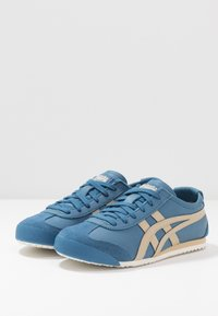 Onitsuka Tiger - MEXICO 66 UNISEX - Baskets basses - winter sea/wood - 2