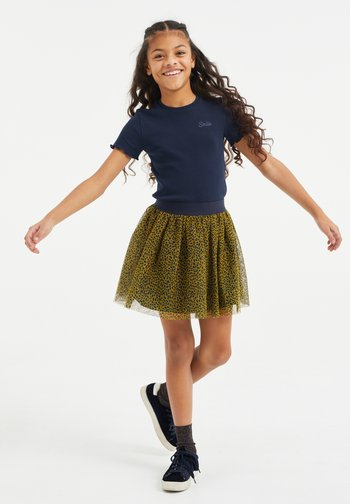 A-line skirt - all-over print