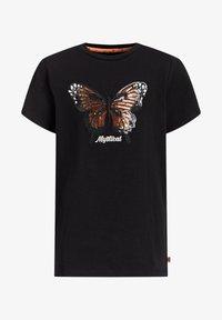 WE Fashion - MEISJES  - Print T-shirt - black - 3
