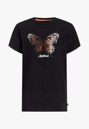 MEISJES  - T-shirts print - black