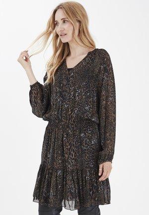 PZAMAYA  - Day dress - black printed