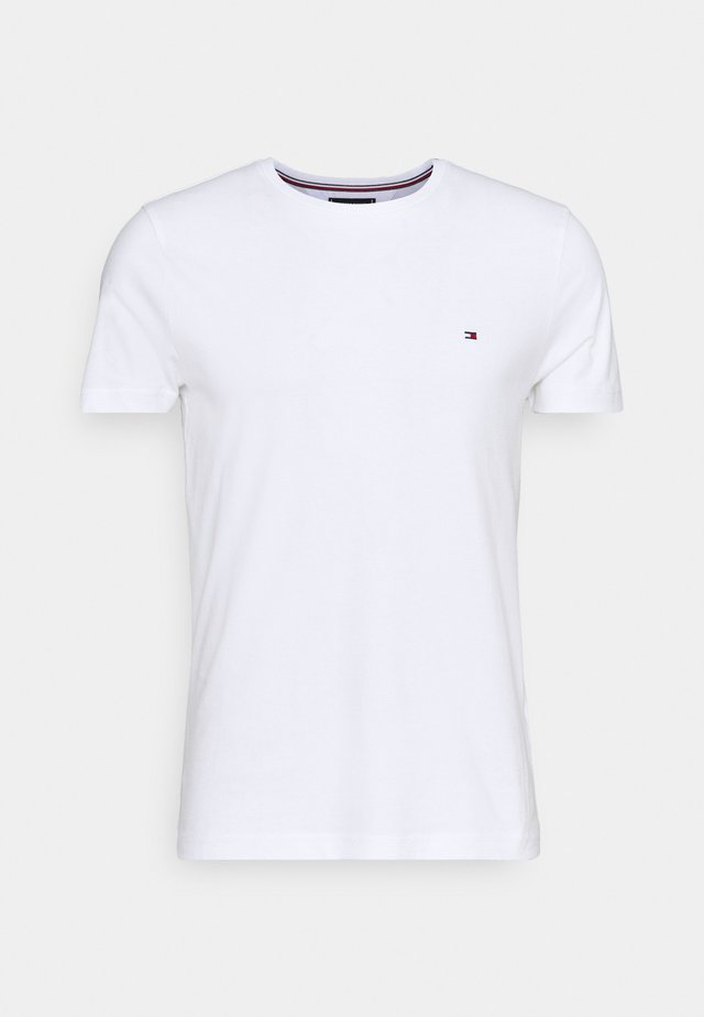 BACK LOGO TEE - Camiseta básica - white