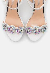 Lulipa London - LEANDRA - High heeled sandals - white - 5