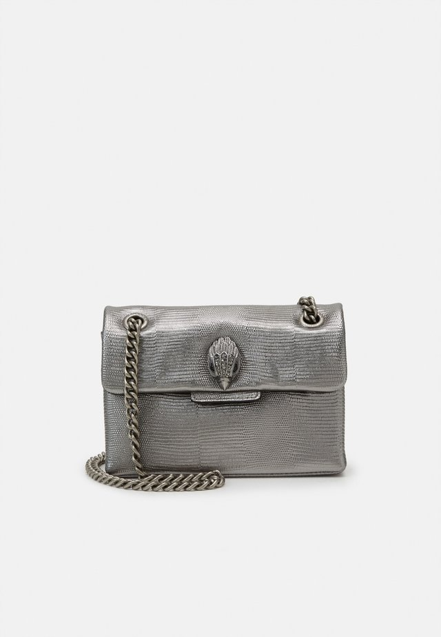 MINI KENSINGTON BAG - Schoudertas - gunmetal