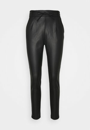ONLPOPTRASH EASY COATED PANT  - Verryttelyhousut - black