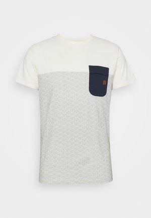 ALFORD - T-shirt z nadrukiem - offwhite