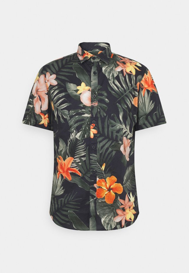 FLORAL HAWAII - Shirt - navy