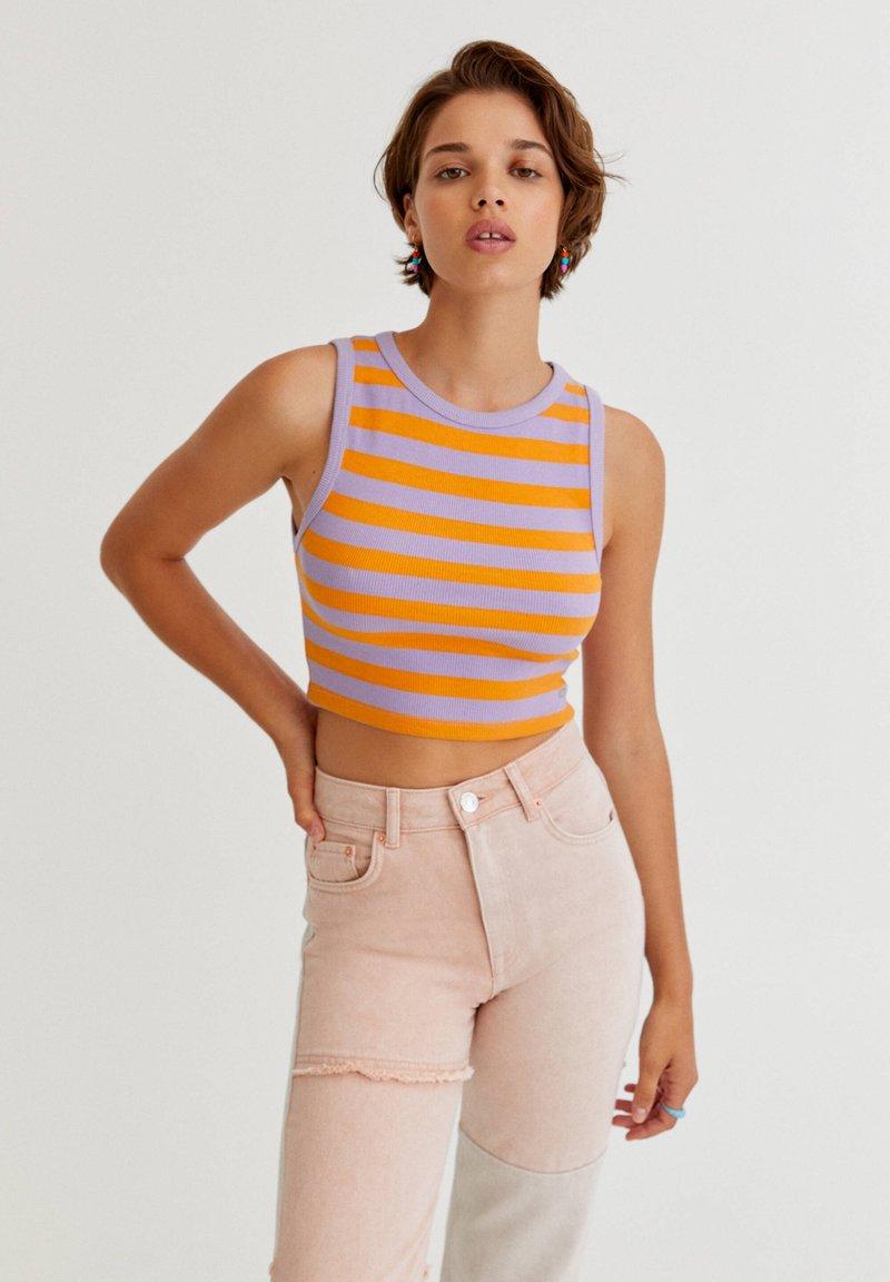 PULL&BEAR - Top - orange