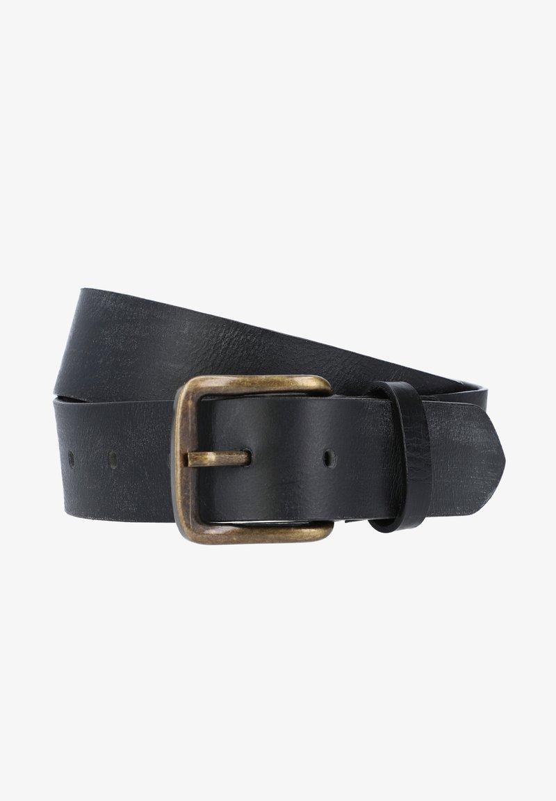 Gusti Leder - KRISTAN - Belt business - schwarz