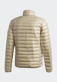 adidas Performance - VARILITE OUTDOOR DOWN - Down jacket - beige - 9