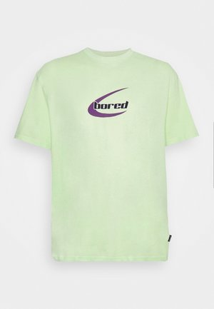 UNISEX - Printtipaita - light green