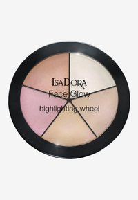 IsaDora - FACE GLOW HIGHLIGHTING WHEEL - Face palette - champagne glow - 0