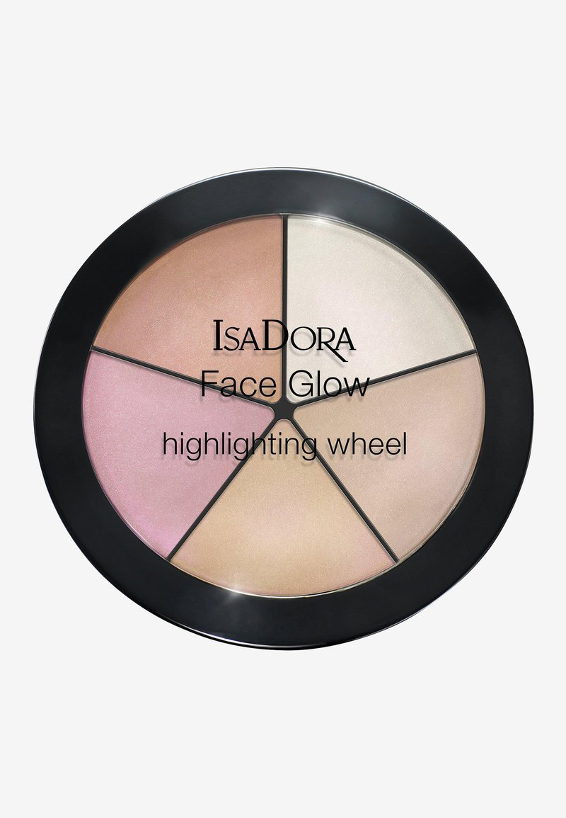 IsaDora - FACE GLOW HIGHLIGHTING WHEEL - Face palette - champagne glow