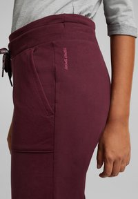 Esprit Sports - Tracksuit bottoms - bordeaux red - 5