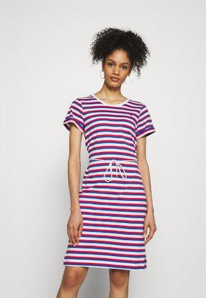 COOL SHIFT SHORT DRESS  - Žerzejové šaty - ombre/fireworks