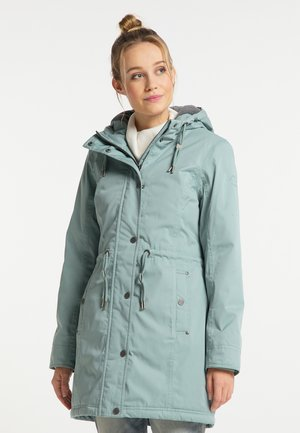 Winter coat - rauchmint
