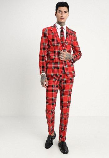 THE LUMBERJACK - Suit - red/black