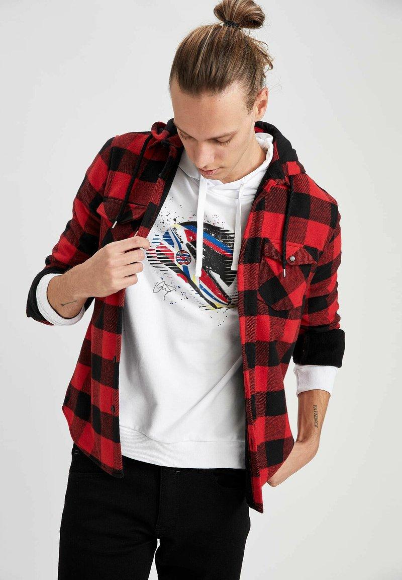 DeFacto - OVERSHIRT - Shirt - red