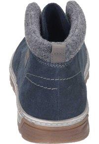 Rieker - Lace-up ankle boots - pazifik/granit/polvere - 2