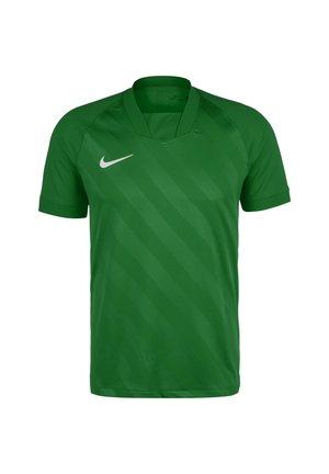 CHALLENGE III FUSSBALLTRIKOT HERREN - Camiseta estampada - pine green / pine green / white