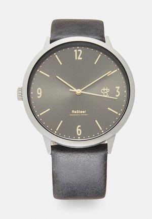WEDNESDAY UNISEX - Watch - gun metal/silver-coloured