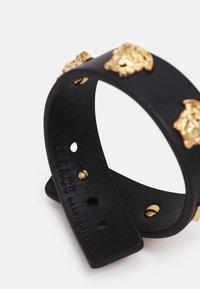 Versace - MEDUSA BRACELET - Bracelet - black/gold-coloured - 1