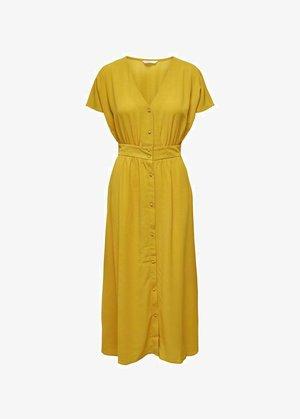 Day dress - tawny olive