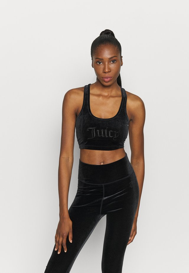 IMANIA - Medium support sports bra - black