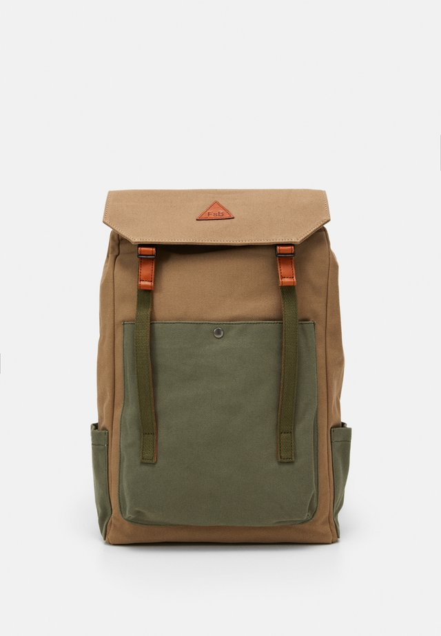 SEALY - Rucksack - mid brown