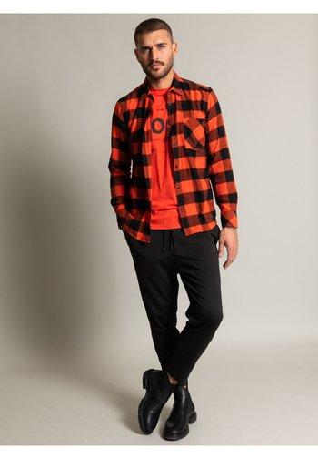 Kostymskjorta - orange