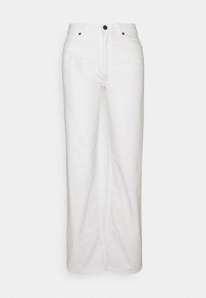 KENDALL - Džíny Straight Fit - white