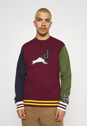 UNIVERSITY CREWNECK UNISEX - Sweatshirt - burgundy