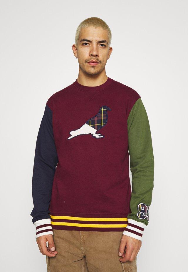 UNIVERSITY CREWNECK UNISEX - Sweatshirt - burgundy