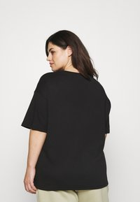 NU-IN - BE YOURSELF SHORT SLEEVE - Jednoduché triko - black - 2