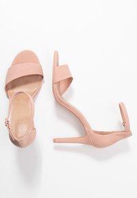 Call it Spring - DELLMAR VEGAN - Sandaler med høye hæler - light pink - 1