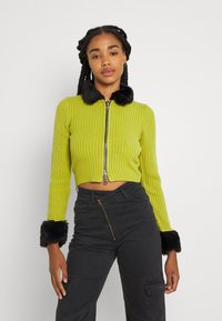 The Ragged Priest - LATE CARDI - Vest - lime/black - 0