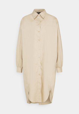 DRESS HOLME - Shirt dress - beige