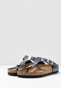 Birkenstock - GIZEH - T-bar sandals - cosmic sparkle anthracite - 4