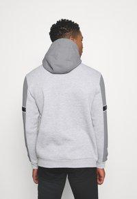 Brave Soul - THAMES - Sweatshirt - light grey marl/light grey/jet black - 2