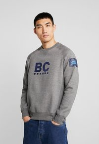 Best Company - CREW NECK RAGLAN - Sweater - grey melange - 0
