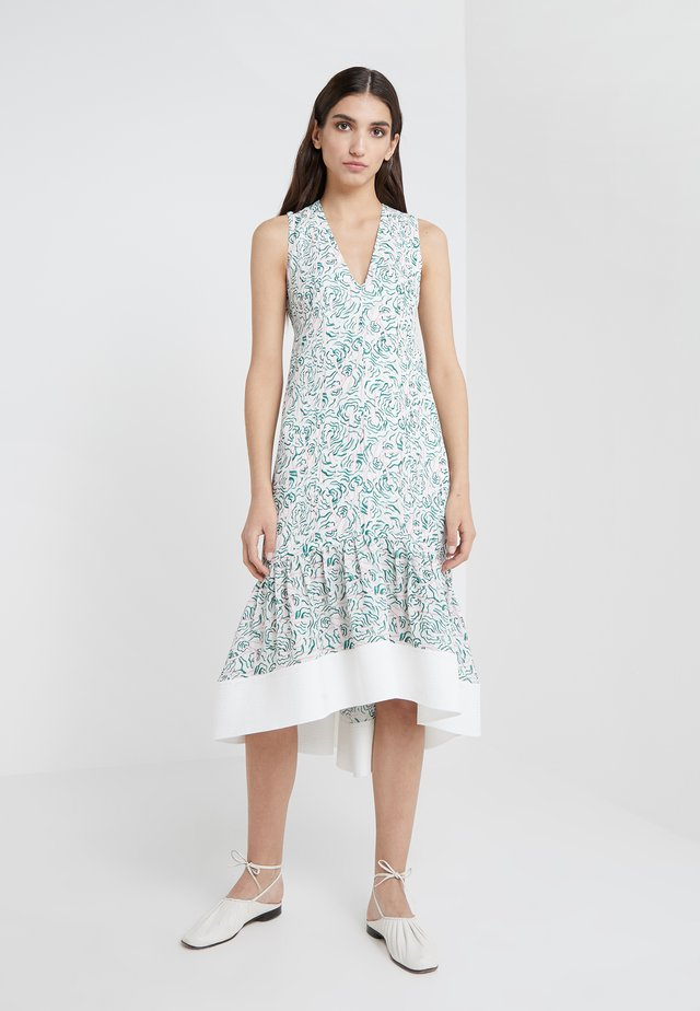 PRINTED DRESS - Vestito lungo - white/multi