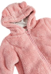 Next - PINK BEAR FLEECE ALL-IN-ONE (0MTHS-2YRS) - Overal - pink - 2
