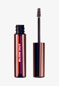 UOMA - BROW-FRO VOLUMIZING BROW GEL - Eyebrow gel - medium brown - 0