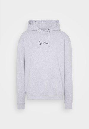 SMALL SIGNATURE HOODY UNISEX - Sweater - ash grey